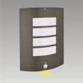 Aplique exterior con sensor MEMPHIS 1xE27/15W/230V IP44