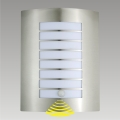 Aplique exterior con sensor MEMPHIS 1xE27/60W/230V IP44