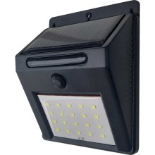 Aplique LED solar LED/3W IP44