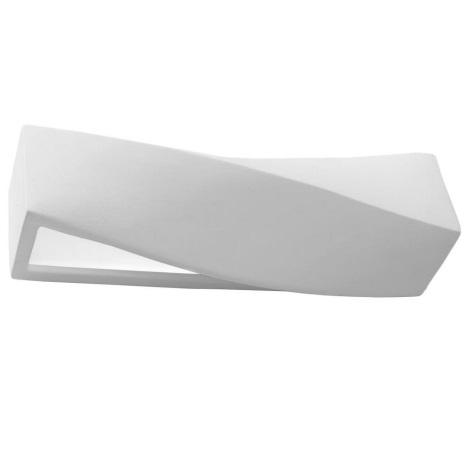 Aplique SIGMA 1xE27/60W/230V blanco
