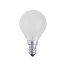 Bombilla industrial BALL FROSTED E14/25W/230V