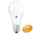 Bombilla LED con sensor E27/8,5W/230V 2700K - Osram