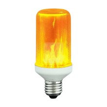 Bombilla LED decorativa FLAME T60 E27/3W/230V 1400K