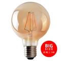 Bombilla LED LEDSTAR AMBER G95 E27/8W/230V
