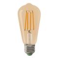 Bombilla LED LEDSTAR AMBER ST64 E27/10W/230V