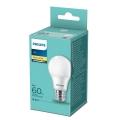 Bombilla LED Philips A60 E27/8W/230V 2700K