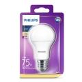 Bombilla LED Philips E27/11W/230V 2700K
