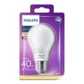 Bombilla LED Philips E27/4,5W/230V 2700K