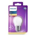 Bombilla LED Philips P45 E27/4,3W/230V 3000K