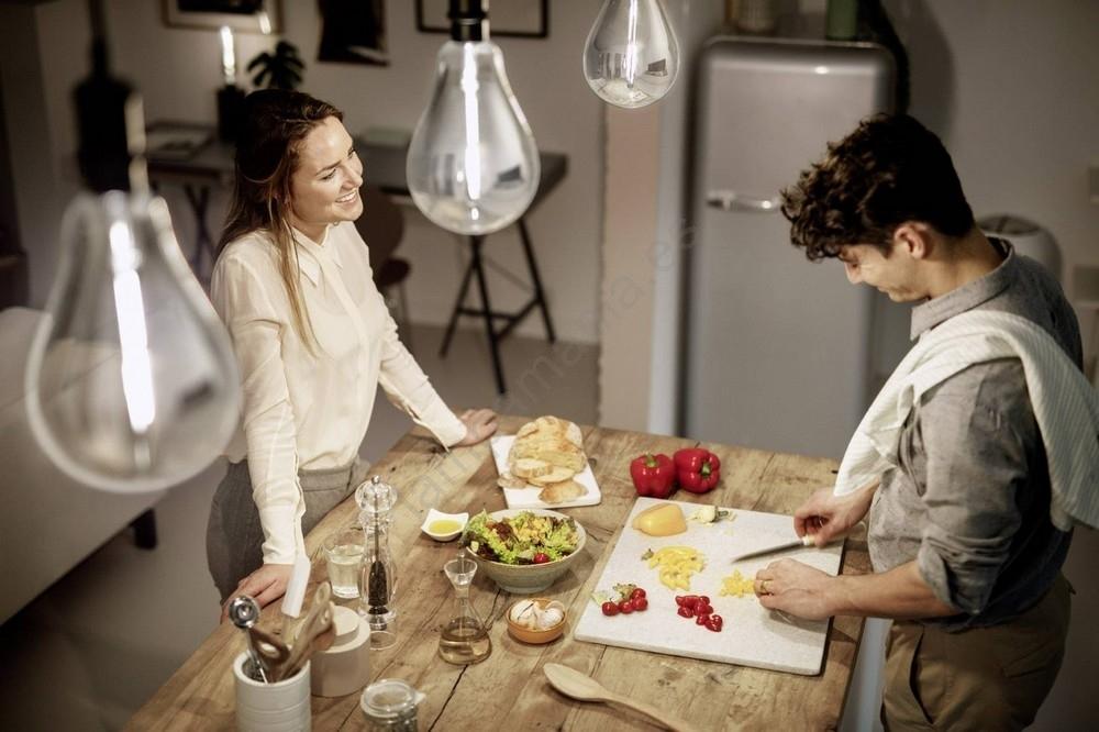 Bombilla LED regulable SMOKY VINTAGE Philips A160 E276,5W230V 4000K