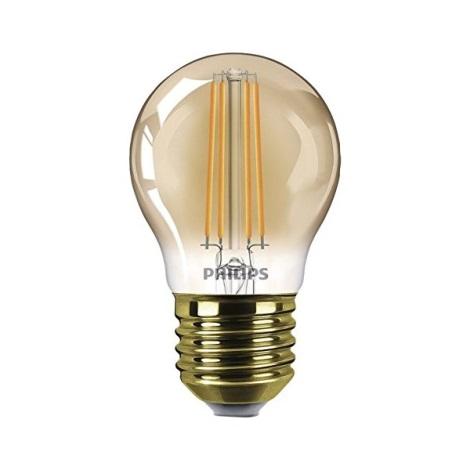 Bombilla LED regulable VINTAGE  E27/5W/230V - Philips