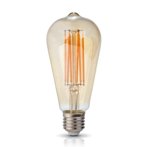 Bombilla LED VINTAGE FST64 E27/7W/230V 2700K