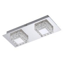 Briloner 3549-028 - LED Plafón NOBLE 2xLED/5W/230V