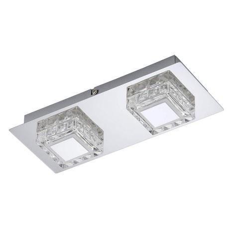 Briloner 3549-028 - LED Plafón NOBLE 2xLED/5W/230V