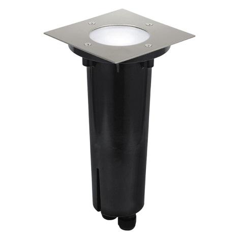 Eglo 30212 - Iluminación exterior empotrable en suelo RIGA 3 1xGU10/9W/230V IP67