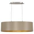 Eglo 31613 - Lámpara colgante MASERLO 2xE27/60W/230V