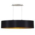 Eglo 31616 - Lámpara colgante MASERLO 2xE27/60W/230V