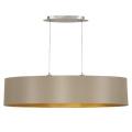 Eglo 31618 - Lámpara colgante MASERLO 2xE27/60W/230V