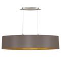 Eglo 31619 - Lámpara colgante MASERLO 2xE27/60W/230V