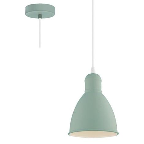 EGLO 49094 - Lámpara colgante PRIDDY-P 1xE27/60W/230V