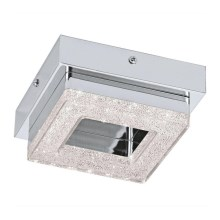 Eglo 79045 - Plafón LED de cristal NOVEL 1xLED/4W/230V