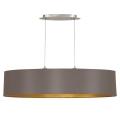 Eglo 79102 - Lámpara colgante MASERLO 2xE27/60W/230V