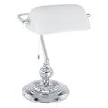 Eglo 90968 - Lámpara de mesa  BANKER E27/60W