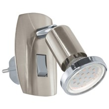 Eglo 92924 - Luz LED enchufable MINI 4 1xGU10-LED/3W/230V