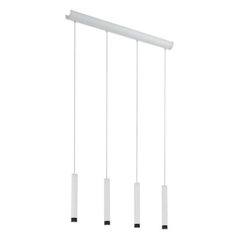 Eglo 93797 - Lámpara LED colgante RAPARO 4xLED/5W/230V