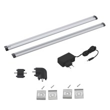 Eglo 94694 - SET 2x LED Lámpara bajo armario VENDRES 2xLED/5W/230V