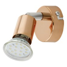 Eglo 94772 - Foco LED BUZZ-COPPER 1xGU10/3W/230V