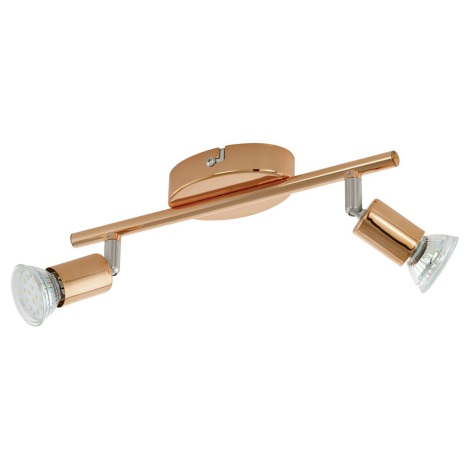 Eglo 94773 - Foco LED BUZZ-COPPER 2xGU10/3W/230V