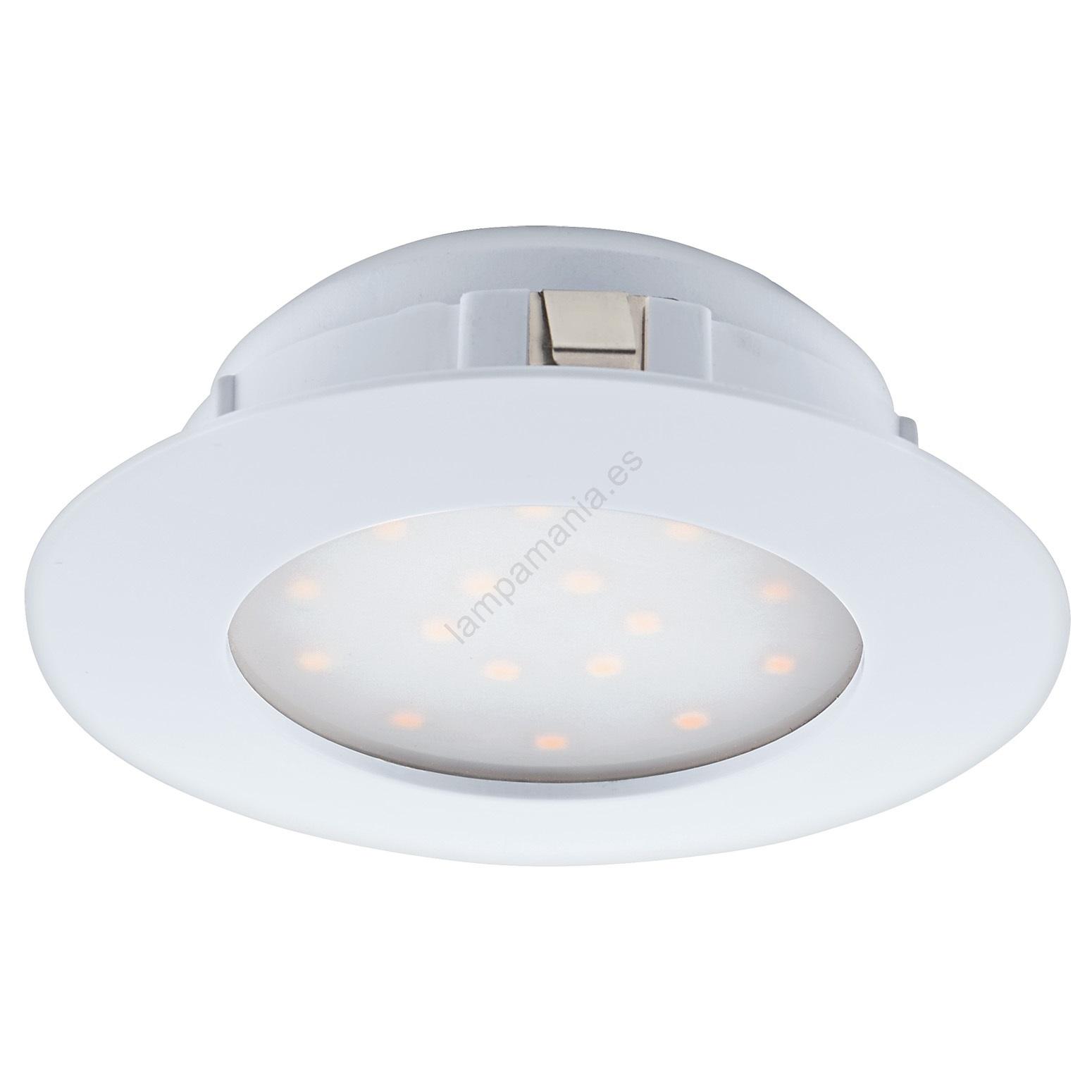 Eglo 95867 Iluminación LED empotrada de techo PINEDA 1xLED12W230V