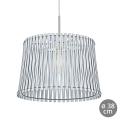 Eglo 96185 - Lámpara colgante SENDERO 1xE27/60W/230V