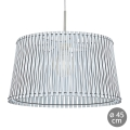 Eglo 96186 - Lámpara colgante SENDERO 1xE27/60W/230V