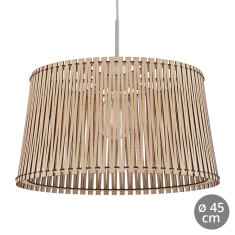 Eglo 96193 - Lámpara colgante SENDERO 1xE27/60W/230V