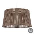 Eglo 96199 - Lámpara colgante SENDERO 1xE27/60W/230V