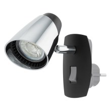Eglo 96845 - Lámpara LED enchufable MONCALVIO 1xGU10/3,3W/230V