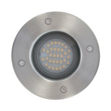 EGLO Blooma - Iluminación LED empotrable de suelo UNION 1xLED/2,5W/230V IP65