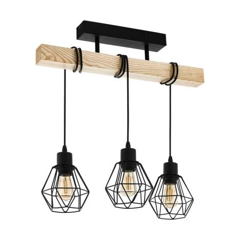 Eglo - Lámpara de techo 3xE27/60W/230V
