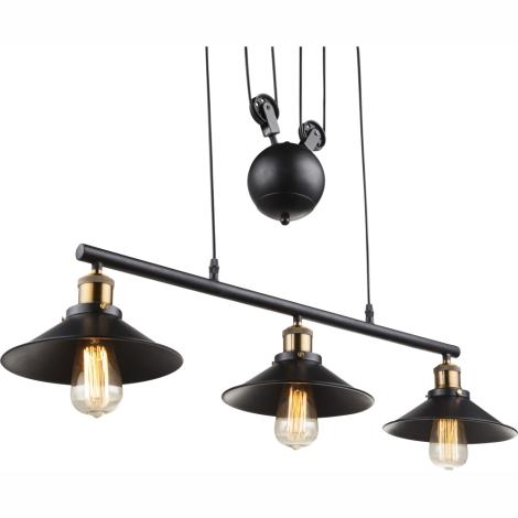 Globo 15053 3 Lámpara colgante LENIUS 3xE2760W230V