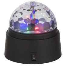 Globo 28014 - Lámpara LED decorativa DISCO 6xLED/0,06W/3xAA