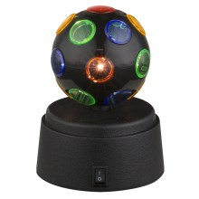 Globo 28017 - Lámpara LED decorativa DISCO 1xLED/0,06W/3xAA