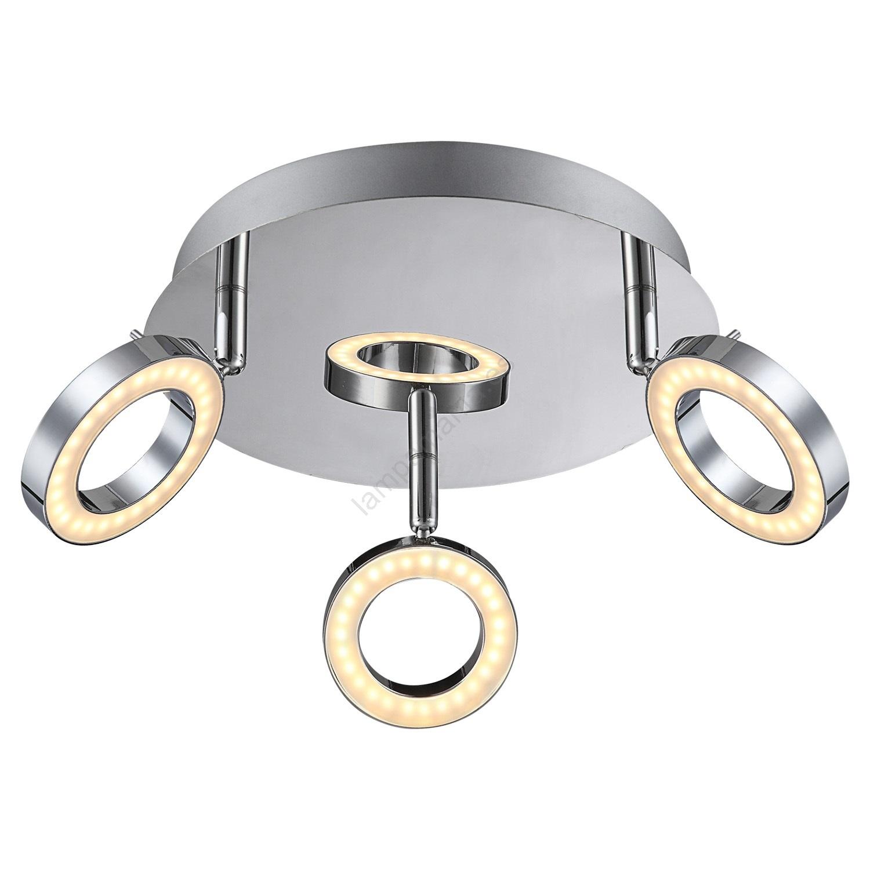 Globo 56107 3 Foco LED ORELL 3xLED5W230V