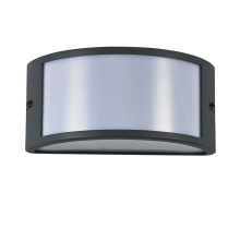 Ideal Lux - Aplique exterior 1xE27/60W/230V antracita IP44