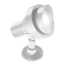 Ideal Lux - Aplique exterior 1xGU10/28W/230V blanco IP65