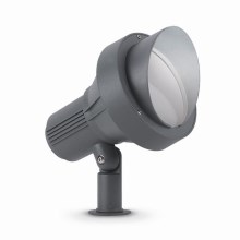 Ideal Lux - Lámpara exterior  1xGU10/35W/230V gris IP65