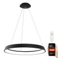 Immax NEO - LED Lámpara colgante regulable LIMITADO LED/39W/230V 60 cm negra Tuya