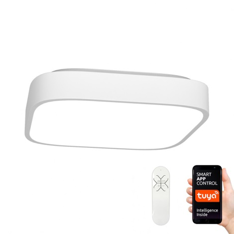 Immax NEO - LED Plafón regulable RECUADRO LED/56W/230V + control remoto Tuya
