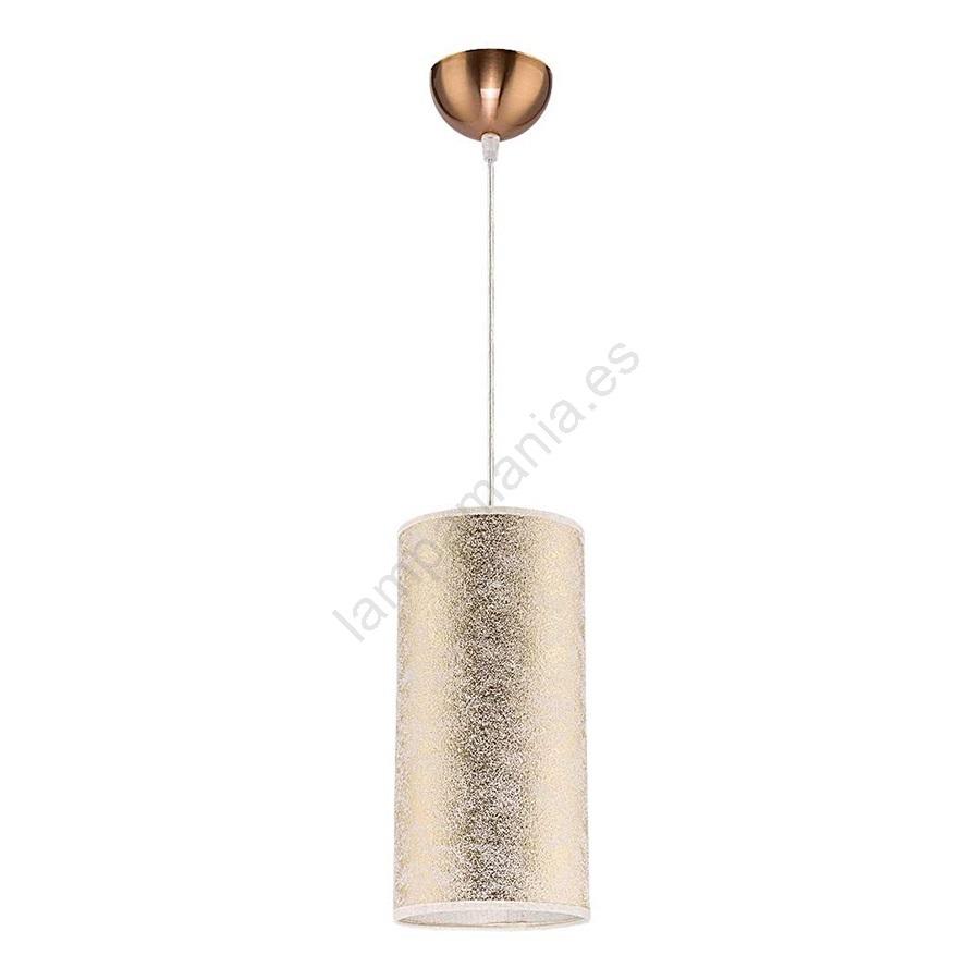 Lámpara colgante CIGAR 1xE2740W230V dorado